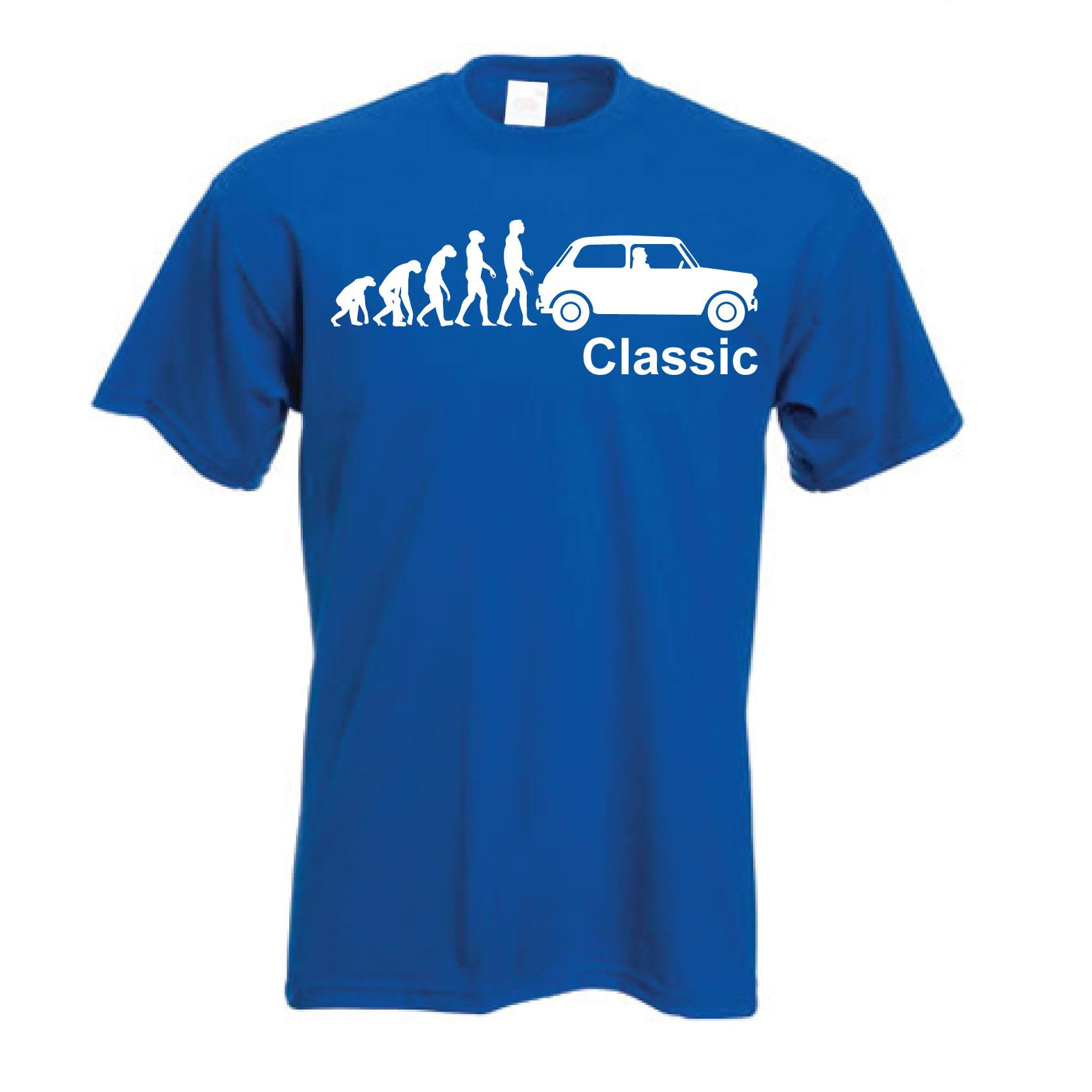 Classic Mini T-Shirt | Evolution of a Classic Mini Unisex TShirt