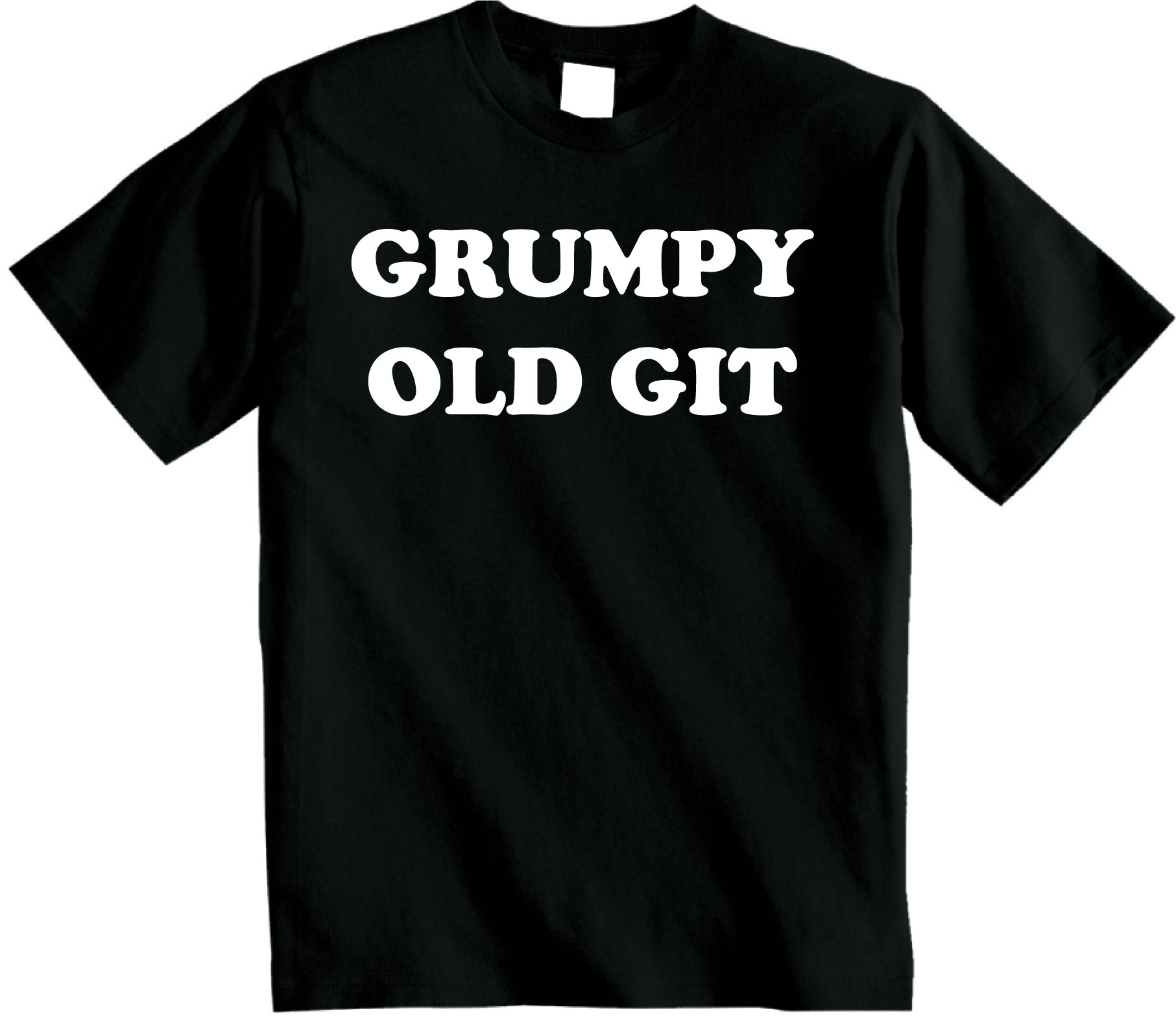 Grumpy old git t-shirt Funny Novelty Unisex Father Dad Tshirt