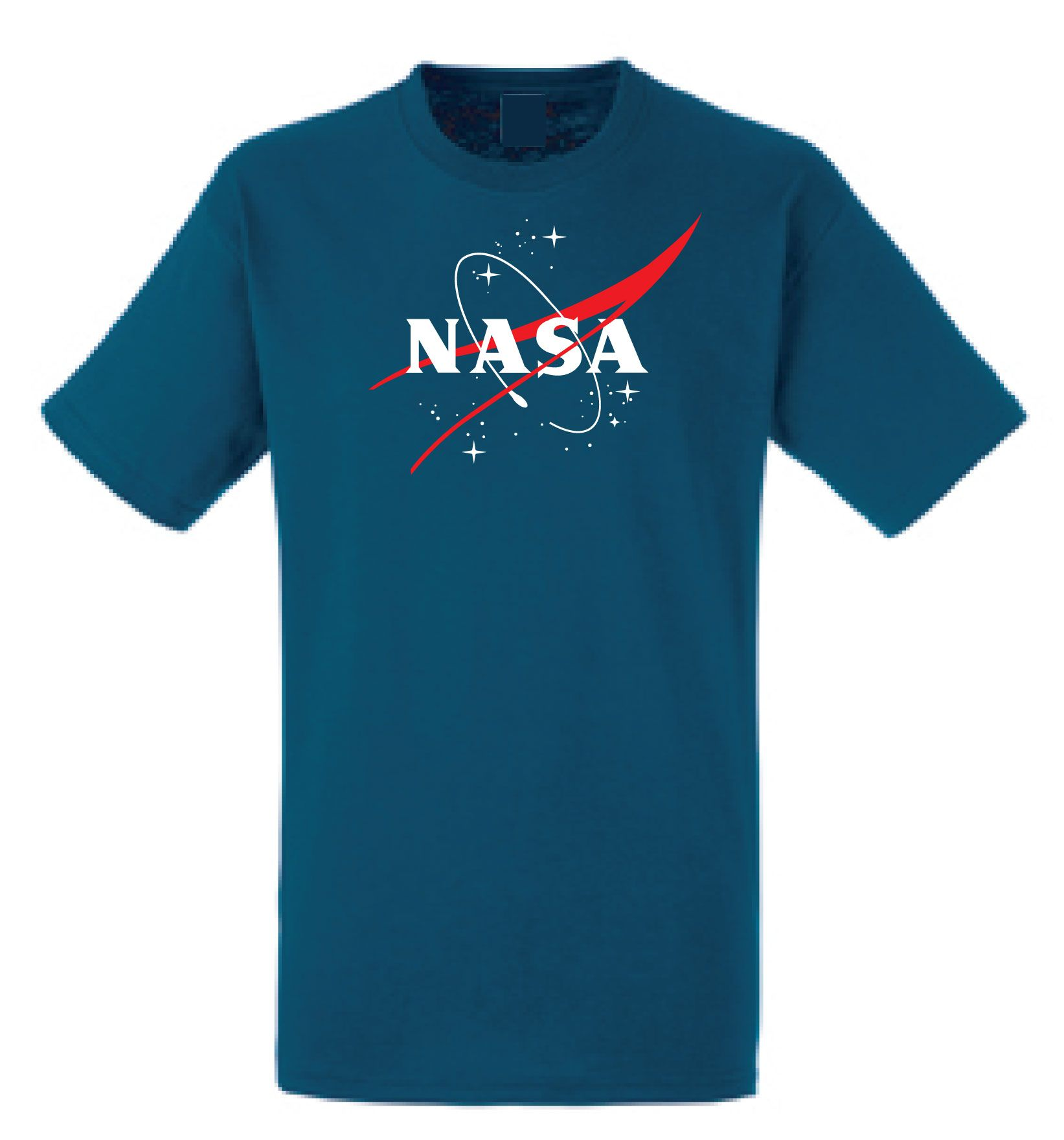 NASA tshirt Space agency Novelty t shirt Mars Mission Curiosity t-shirt